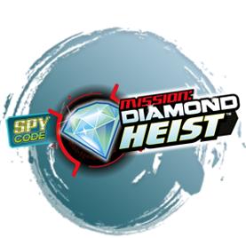 Spy Code Mission Diamond Heist