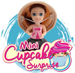 mini cup cake glitter
