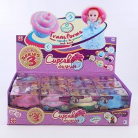Cup Cake 3 Surprise Princess Doll