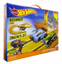 Hot Wheels Slot Car x 2 - 2,86m