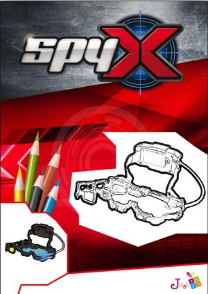 Χρωμοσελίδες Spy X